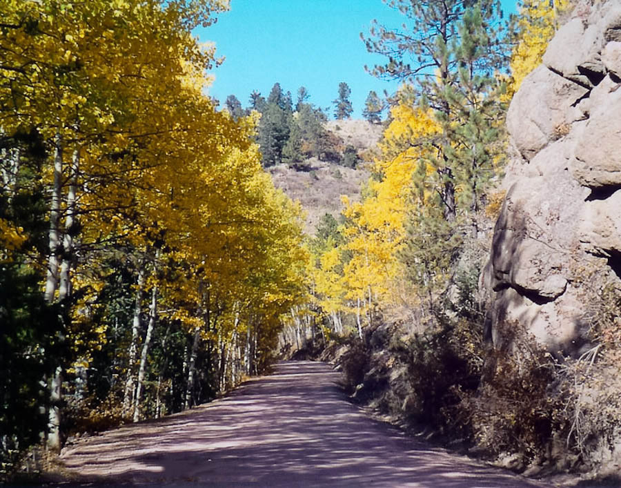 Phantom Canyon Road near Cañon City