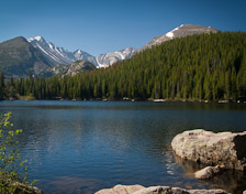 Bear Lake, Rocky Mountain Ntl. Park, CO.