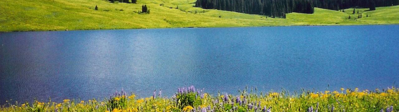 Flat Tops Trail Vaughn Lake